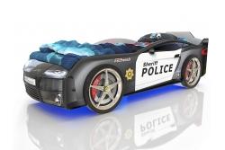 Кровать машина Romack Kiddy Ferrari Police.