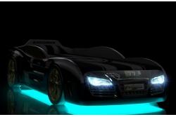 Кровать машина Renner 2 Черная (без подсветок).