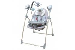 Детские качели для новорожденных Baby Mix SW-102 RC new. Сетевой адаптер и пульт ДУ в комплекте!!!!