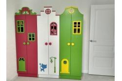 """Шкаф детский """"Голландские домики""""."""