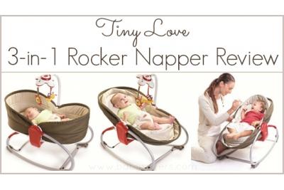 "Люлька-баунсер ""Мамина любовь"" Tiny love  Rocker Napper 3-in-1 цвет brown."