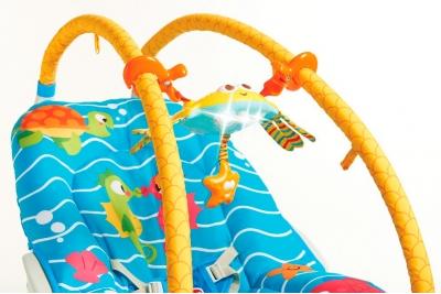 """Детский шезлонг Tiny Love """"Подводный мир"""""""